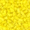 Miyuki Tila Half Cut 5X2.3mm 2Hole Lemon Yellow Opaque Aurora Borealis .Matte